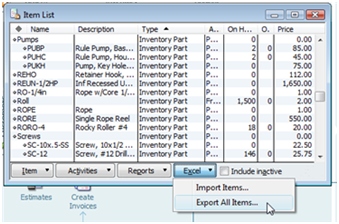 Importing QuickBooks Inventory With Excel Practical QuickBooks - Quickbooks invoice import csv