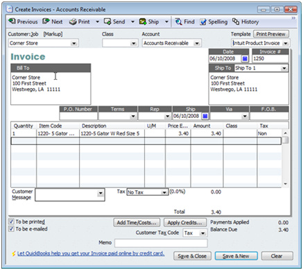 Voiding Invoices In Quickbooks Practical Quickbooks Practical