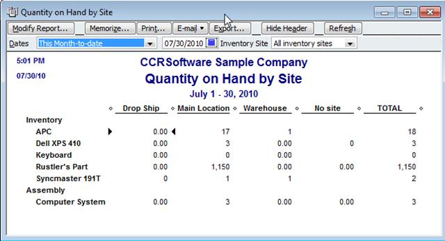 QuickBooks 2011: Advanced Inventory - Practical QuickBooks