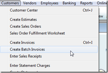 QuickBooks Batch Invoicing Practical QuickBooks Practical - How to create an invoice in quickbooks