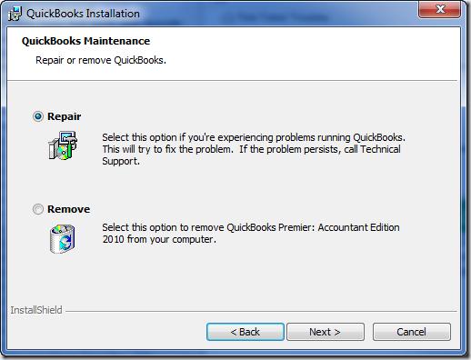 quickbooks 2016 update error 1603