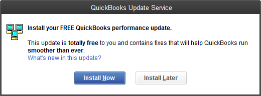 Free QuickBooks performance update