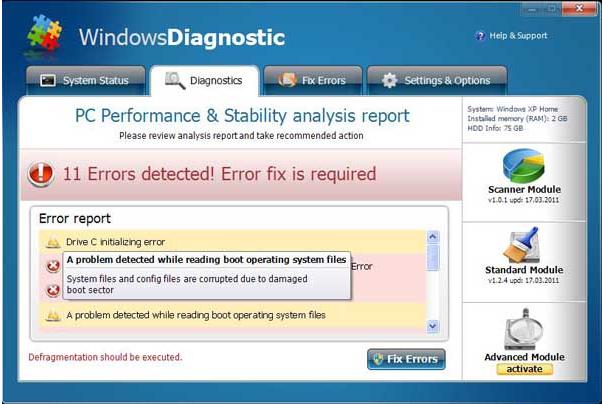 Computer Malware installer